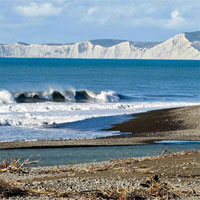 Động đất kéo 2 đảo New Zealand xích lại gần nhau
