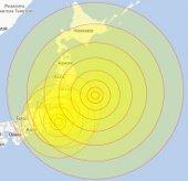 Động đất mạnh ở Nhật Bản, gây cảnh báo sóng thần