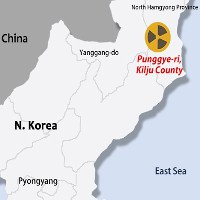 Động đất xảy ra gần khu thử hạt nhân Triều Tiên
