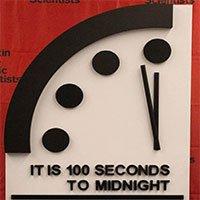 Đồng hồ ngày tận thế đứng ở mức