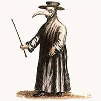 Đồng phục quái dị của bác sĩ dịch hạch thời Trung cổ
