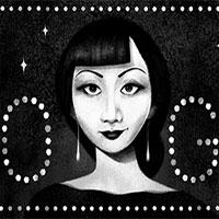 Doodle hôm nay tôn vinh ngôi sao điện ảnh người Mỹ gốc Hoa đầu tiên tại Hollywood