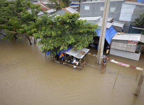 Đức hỗ trợ Việt Nam khắc phục hậu quả lũ lụt