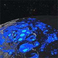 Giả thuyết mới: Nước trên Mặt trăng do