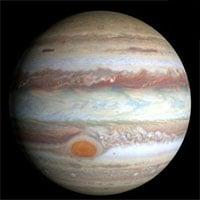 Gia tốc gió tăng ở Vết Đỏ Lớn của sao Mộc