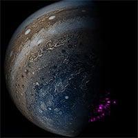 Giải mã bí ẩn về cực quang tia X trên sao Mộc