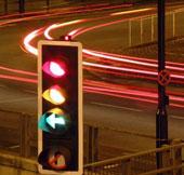 Giảm tắc đường bằng đèn giao thông ảo