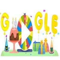 Google đổi Doodle vòng xoay bất ngờ cho sinh nhật