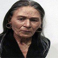 Gương mặt của người thật sống hàng nghìn năm về trước,
