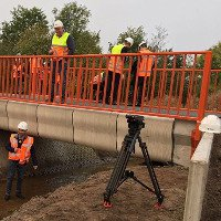 Hà Lan xây cầu bằng công nghệ in 3D