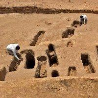Hài cốt những đứa trẻ cụt chân trong đền cổ Peru