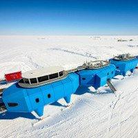 Hai vết nứt băng đe dọa trạm nghiên cứu Nam cực