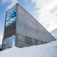 Hầm chống tận thế lưu giữ sách quý ở Na Uy