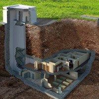 Hầm trú hạt nhân bất khả xâm phạm dưới lòng đất