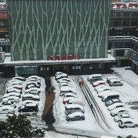 Hàng nghìn ôtô ở Thường Châu bị tuyết phủ nhiều ngày