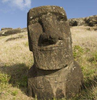 Hé lộ bí ẩn tượng trên đảo Phục Sinh