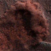 Hé lộ hình ảnh cực hiếm về trận lở băng tuyết khổng lồ ở Bắc Cực của sao Hỏa