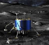 Hé lộ hình ảnh tàu thám hiểm Mặt trăng của châu Âu