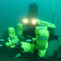 Hệ thống robot giúp vô hiệu hóa thủy lôi
