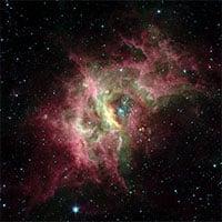 Hình ảnh rõ nét đầu tiên về bong bóng hình thành sao