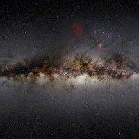 Hình ảnh tuyệt đẹp về Ngân Hà khi quan sát qua sóng vô tuyến