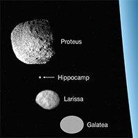 Hippocamp - Mặt trăng thứ 14 siêu nhỏ của sao Hải Vương