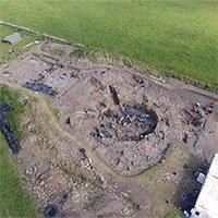 Hố đất chứa 18.000 vỏ ốc sau