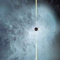 Hố đen bị lột trần khi hai thiên hà va chạm