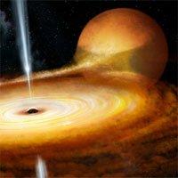 Hố đen trong Dải Ngân hà lóe sáng dữ dội khi