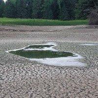 Hồ rộng 200m biến mất không dấu vết sau một đêm