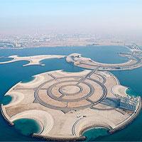 Hòn đảo nhân tạo đắt giá nhất thế giới rộng 2.600m2 ở Ả Rập