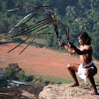 Huyền thoại nhuyễn kiếm hồi sinh và lóa mắt với cuộc đấu kiếm của hai võ sĩ
