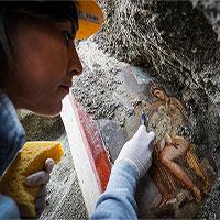 Italia: Tìm thấy bức tranh La Mã cổ về chủ đề