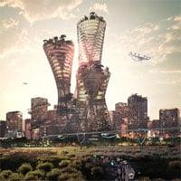 Kế hoạch xây thành phố xanh 400 tỷ USD trên sa mạc