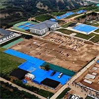 Khai quật cung điện cổ nhất Trung Quốc