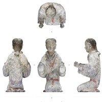 Khai quật được mộ cổ nhà Hán chứa hàng nghìn mảnh ngọc bích