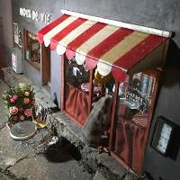 Khám phá tiệm bánh tí hon, độc đáo dành cho chuột ở Thụy Điển