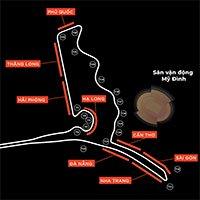Khán đài đường đua công thức 1 Hà Nội mang tên địa danh nổi tiếng Việt Nam