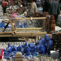 Kho báu đá xanh của Afghanistan bị tàn phá