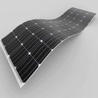 Khối lượng pin năng lượng mặt trời mới nhẹ bằng 80% pin truyền thống