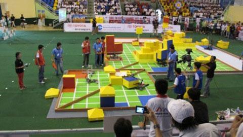 Khởi tranh vòng loại Robocon 2010 khu vực Miền Bắc