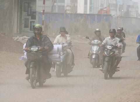 Không khí ở Việt Nam bẩn thứ 10 thế giới