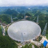 Không người vận hành, kính thiên văn lớn nhất thế giới của Trung Quốc