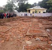 Kiến trúc lớn thời Lý phát lộ ở Hoàng thành Thăng Long