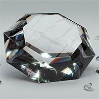 Kim cương lục giác nhân tạo có thể cứng hơn kim cương tự nhiên