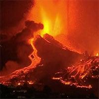 Kinh hoàng núi lửa phun trào ở Tây Ban Nha
