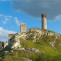 Kinh ngạc thế giới loài người khác... bên dưới lâu đài trung cổ