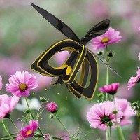 Kinh ngạc với con ong robot có thể thụ phấn cho hoa