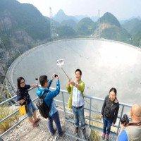 Kính thiên văn FAST đang bị đe dọa bởi người Trung Quốc