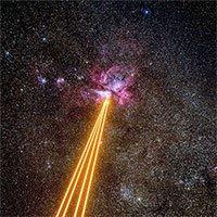 Kính viễn vọng bắn laser đến tinh vân cách 7.500 năm ánh sáng